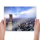 Buildings Skyscraper Tokyo Tv Movie Art Poster 24x18 inch