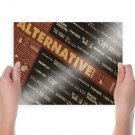 Bands Alternative Tv Movie Art Poster 24x18 inch