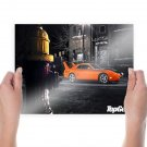 Top Gear Plymouth Concept Tv Movie Art Poster 24x18 inch