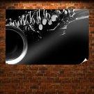 Saxophone Tv Movie Art Poster 36x24 inch
