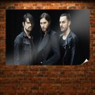30 Seconds To Mars Jared Leto Black Band Tv Movie Art Poster 36x24 inch