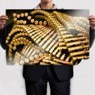 Bullet Ammunition Tv Movie Art Poster 36x24 inch