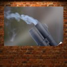 Shotgun Smoke Tv Movie Art Poster 36x24 inch