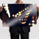 Bokeh Warm Bench Macro Tv Movie Art Poster 36x24 inch