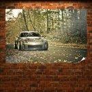 Nissan 350z Slammed Leaves Tv Movie Art Poster 36x24 inch