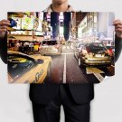 Street Hdr Buildings Skyscrapers New York Tv Movie Art Poster 36x24 inch