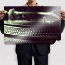 Macro Turntable Tv Movie Art Poster 36x24 inch