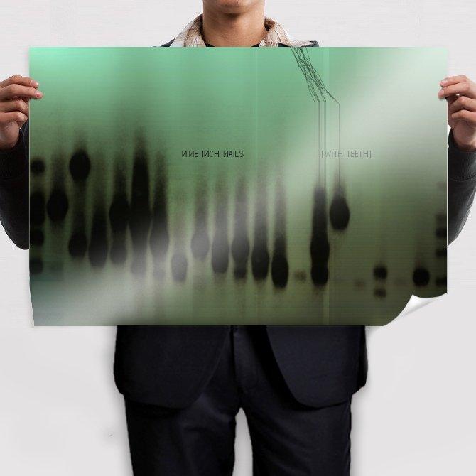 nine inch nails nin tv movie art poster 36x24 inch