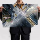 Street Urban Aerial View Tv Movie Art Poster 36x24 inch