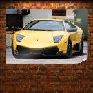 Lamborghini Murcielago Sv Tv Movie Art Poster 36x24 inch