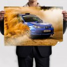 Subaru Wrx Sti Rally Dirt Tv Movie Art Poster 36x24 inch