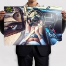 Audi Shorts Interior Tv Movie Art Poster 36x24 inch