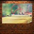 Iphone Phone Cell Phone Beats Earphones Warm Tv Movie Art Poster 36x24 inch