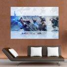 League Of Legends S Art Poster Print  36x24 inch