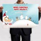 Merry Christmas 2013 Hd  Art Poster Print  36x24 inch
