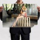 Sexy Blonde  Art Poster Print  36x24 inch