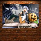 Happy Halloween 2012 Hd 2 Art Poster Print  36x24 inch