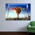 Artistic Heart  Art Poster Print  36x24 inch