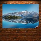Spectacular Mountain  Art Poster Print  36x24 inch