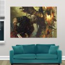 Witcher 2 S Art Poster Print  36x24 inch