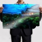 Beautiful Kyoto Japan  Art Poster Print  36x24 inch
