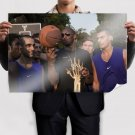 Kobe Bryant Italy Fans Art Poster Print  36x24 inch