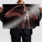 Fantasy Women With Wings  Art Poster Print  36x24 inch