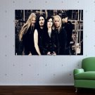 Nightwish Band  Art Poster Print  36x24 inch