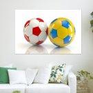 2012 European Cup 28  Art Poster Print  36x24 inch