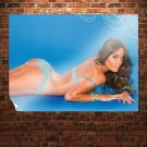 Blue I  Art Poster Print  32x24 inch