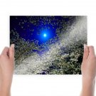 Bright Moonlight  Art Poster Print  24x18 inch