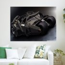 Batman Car  Art Poster Print  24x18 inch