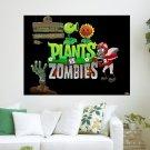 Plants Vs Zombies  Art Poster Print  24x18 inch