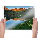 Hd Beautiful Landscape  Art Poster Print  24x18 inch