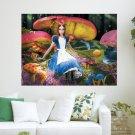 Alice In Wonderland  Art Poster Print  24x18 inch