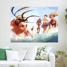 Girls Of Street Fighter  Art Poster Print  24x18 inch
