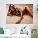 Girl With A Pleer  Art Poster Print  24x18 inch