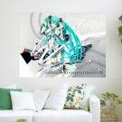 Miku December 2011 Calendar  Art Poster Print  24x18 inch