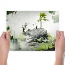 Like A Jungle 1600x1200  Art Poster Print  24x18 inch