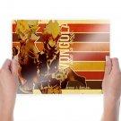 Katekyo Hitman Reborn Boss Decimo Primo  Art Poster Print  24x18 inch