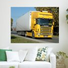 Scania V8 480 164l  Art Poster Print  24x18 inch