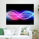 Electrical Storm  Art Poster Print  24x18 inch