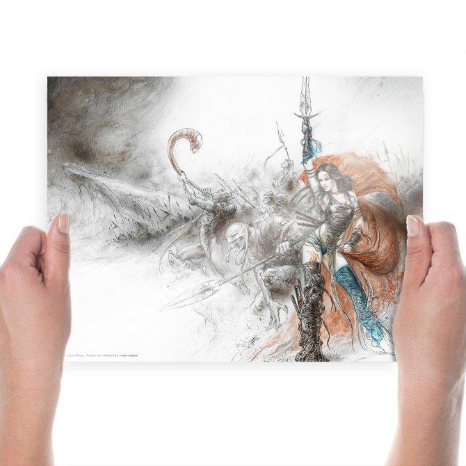 Luis Royo  Art Poster Print  24x18 inch