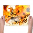Fairy Tail Background Art Poster Print  24x18 inch