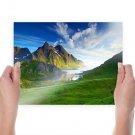 Beautiful Seascape  Art Poster Print  24x18 inch