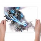Fate Ziny Game  Art Poster Print  24x18 inch