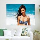 Miranda Kerr Smile  Art Poster Print  24x18 inch