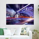 Photography Timelapse  Art Poster Print  24x18 inch