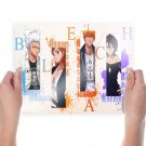 Anime Bleach Main Characters  Art Poster Print  24x18 inch