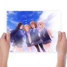 K On Anime Girls  Art Poster Print  24x18 inch